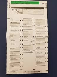 Cook County, Illinois D primary ballot ...