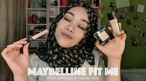 maybelline fit me foundation concealer