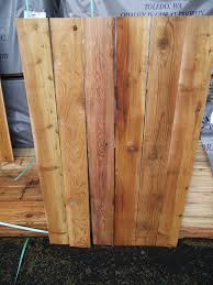 1 3 1 2 8 2 Cedar Fence Board And Trim Mill Outlet Lumber