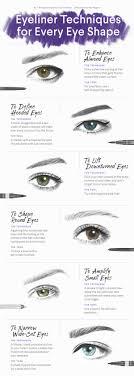 cat eye makeup for round eyes cat eye