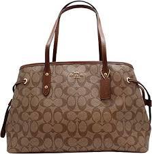 hand shoulder bag f57842 khaki brown