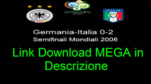 Partita Completa Full match Germania-Italia 0-2 Semifinale ...