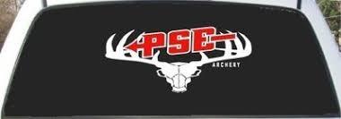 Pse Archery 2 Color Rear Window Decal Sticker 8 5 X 23 368535541
