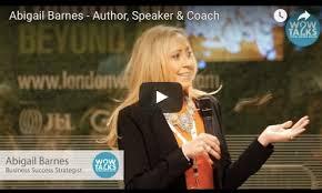 Abigail Barnes, Author: Winners always find a way!