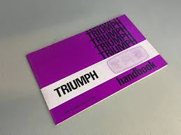 rare original nos triumph tr6 owners