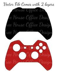 Diy Controller Skin Cover Svg Dxf Png Jpeg Controller Decal Etsy Cricut Tutorials Xbox One Skin Svg