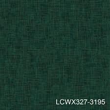 china stripe lined textured dark green