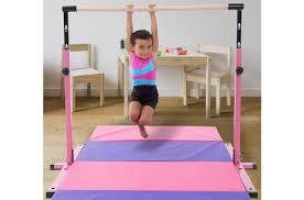 homemade gymnastics bars for kids