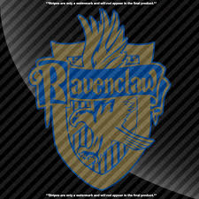Ravenclaw Crest Harry Potter Decal Decals By Delano