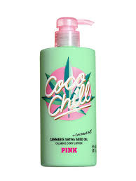 pink coco chill hydrating body lotion