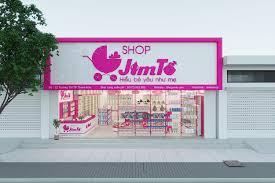 Thiết kế Shop mẹ và bé Jim diện tích 98m2, số 2 chị Thoa - Thanh Hóa