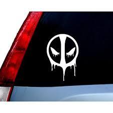 Dripping Deadpool Vinyl Decal Sticker Cars Trucks Vans Walls Laptops Cups White 5 5 Inches Kcd944 Walmart Com Walmart Com