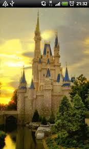 free cinderella castle live wallpaper