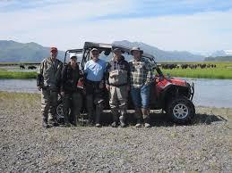Saltery Creek with Buffalo in the background! - Picture of Reel Extreme  Alaska, Kodiak Island - Tripadvisor