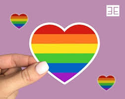 Gay Pride Decal Etsy