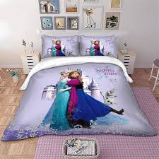 disney frozen bedding set kids duvet