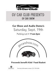 Gvsu Car Show Home Facebook
