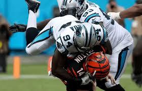 Former London Warrior Efe Obada re-signs with NFL's Carolina Panthers