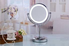 vanity light mirror standing led mirror