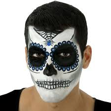 sugar skull face tattoo costume mask