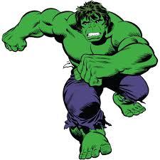 Classic Hulk Comic Giant Wall Decals Walmart Com Walmart Com