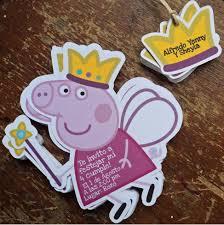 Invitaciones Peppa Pig Papeleria Creativa Invitaciones De Peppa