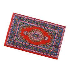 dollhouse miniature rug turkish style