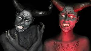 demon makeup you saubhaya makeup