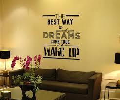 Vinyl Wall Decal Sticker Make Your Dreams Come True Quote 5154 Stickerbrand