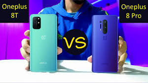 Oneplus 8T VS Oneplus 8 Pro - YouTube