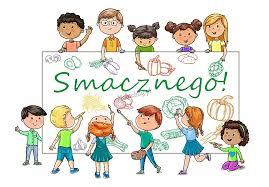 Smacznego! Tablica szkolna (SZK064) - Naklejka dla dzieci - Maluchity