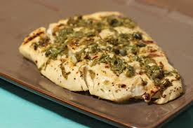 Grilled Halibut with Lemon, Capers and ...