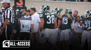 Byron Bullough | Spartans All-Access | Michigan State Football - YouTube