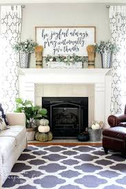 mantel decorating ideas for everyday