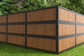 with 2x6 wood fence panels