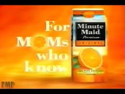 minute maid orange juice 2003 you
