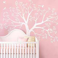 Amazon Com Simple Shapes Staircase Family Tree Wall Decal Reverse Cut 109 5w X 105h Inch Standard Size White Home Kitchen