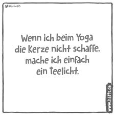 8 lustige Sprüche über Yoga · Häfft.de