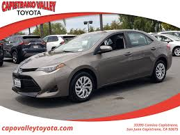 used 2019 toyota corolla at
