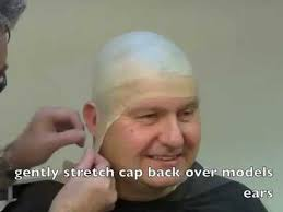 bald cap tutorial latex bald head for
