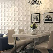 off white pvc 3d wall