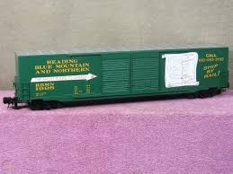 Reading Blue Mountain Northern Box Car Decal Set Ho Scale