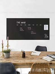 Amazon Com Simple Shapes Chalkboard Wall Decal Large Chalkboard Wall Decal 24 X 48 Home Kitchen