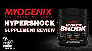 myogenix hypershock extreme pre workout