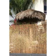 Backyard X Scapes 16 Ft X 6 Ft Coffee Bamboo No Dig Decorative Reed Fencing Rolled Fencing In The Rolled Fencing Department At Lowes Com