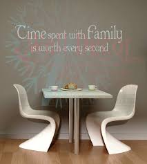 Time Spent With Family Worth Every Second Family Wall Decals For Home Decor