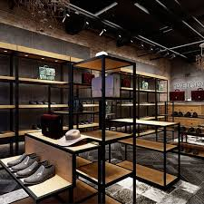 shoe display wall mounted shelves