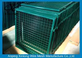Convenient Installation Welded Fence Gate Hot Dipped Galvanized 5 0mm