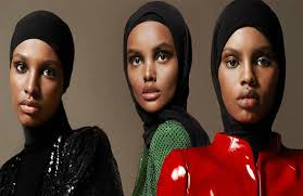 Shattering Stereotypes Associated With Muslim Women, Vogue Arabia Features  Three Black Hijabi Models