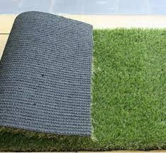 premium synthetic grass rubber backed